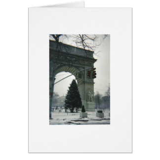 Christmas in New York City Card