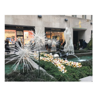 Christmas in New York City Rockefeller Center Card