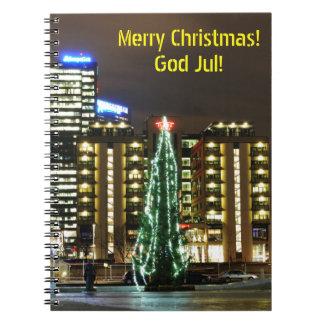 Christmas in Oslo, Norway Notebook