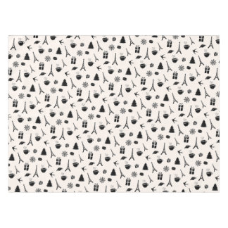 Christmas in Paris | Patterned Tablecloth