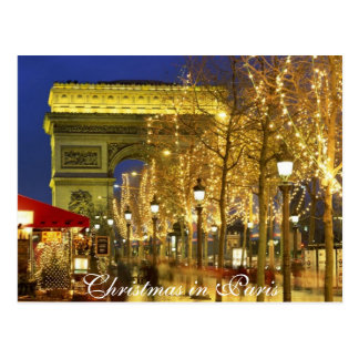 Christmas in Paris, Postcard
