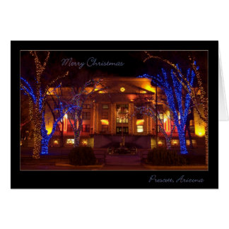 Christmas in Prescott Arizona Card
