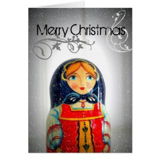 Christmas in Russia Card
