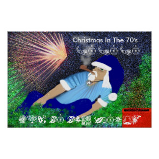 Christmas in the 70 s poster