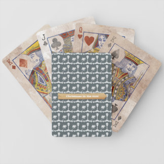 Christmas in the Sun Beach Christmas Bicycle Playing Cards