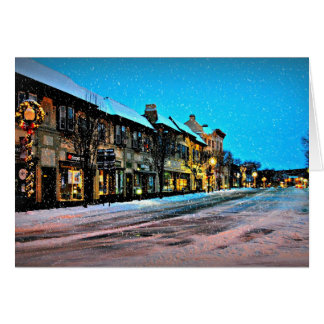 Christmas In The Village Card