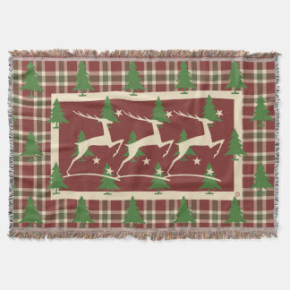 Christmas Inn - Christmas Throws Reindeer Throw Blanket