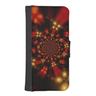 Christmas iPhone SE/5/5s Wallet Case