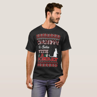 Christmas Is Better With A Bombay Ugly Sweater Tee