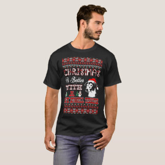 Christmas Is Better With Jack Russell Terrier Ugly T-Shirt