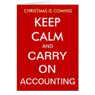 Christmas is Coming - Keep Calm... Christmas Card