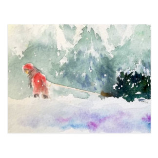 Christmas is Coming Postcard