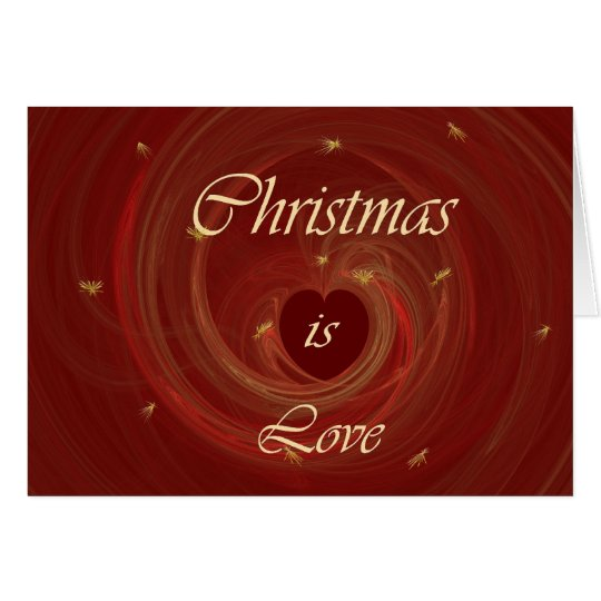 CHRISTMAS IS LOVE CARD
