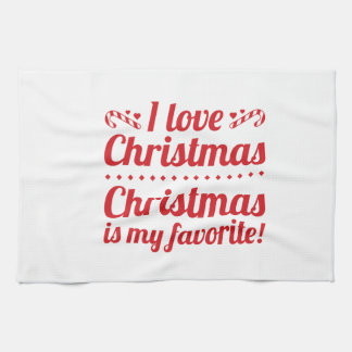 Christmas Is My Favorite Kitchen Towels
