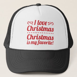 Christmas Is My Favorite Trucker Hat