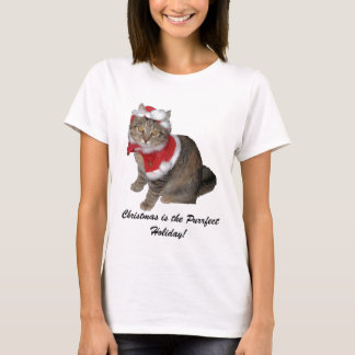 Christmas is the Purrfect Holiday! T-Shirt