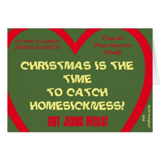 CHRISTMAS IS THE TIME... PERSONALIZED CARD