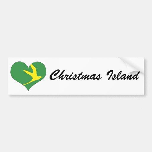 Christmas Island Bumper Sticker