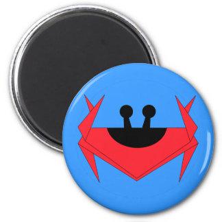 Christmas Island crab (blue) Magnet
