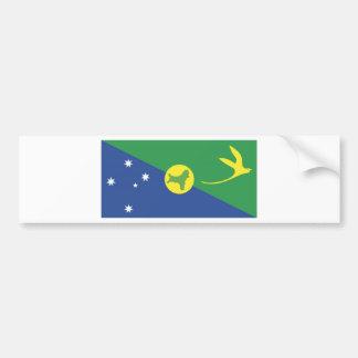 Christmas Island Flag Bumper Stickers