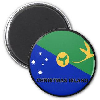 Christmas Island Roundel quality Flag Magnet