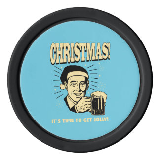 Christmas: It's Time To Get Jolly Poker Chips
