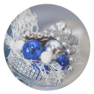 Christmas jewelry plate