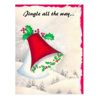 Christmas, Jingle all the way... Postcard