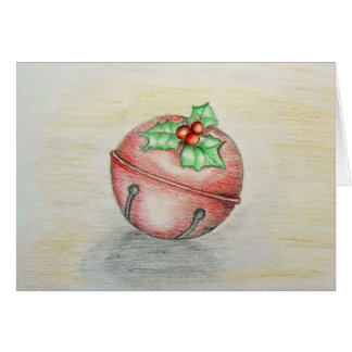 Christmas Jingle Bell Greeting Card