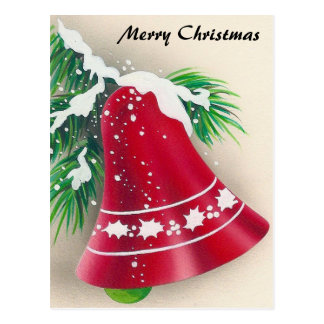 Christmas, Jingle Bells Postcard
