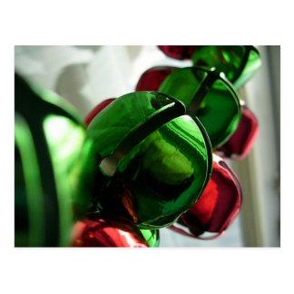 Christmas Jingle Bells Postcard