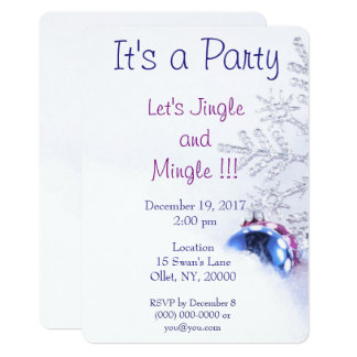 Christmas Jingle Party Card