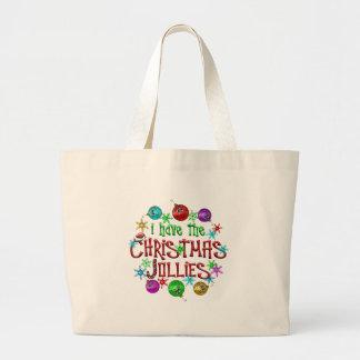 Christmas Jollies Large Tote Bag