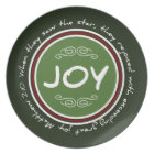 Christmas Joy Bible Verse Plate