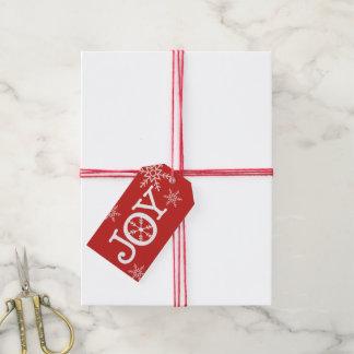 Christmas JOY Gift Tag