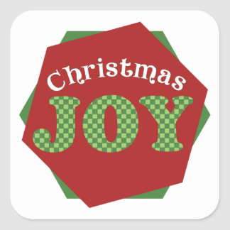 Christmas Joy Holiday Stickers
