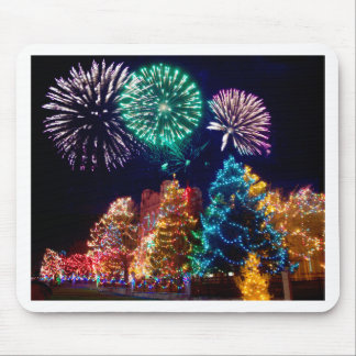 christmas joy time mouse pad
