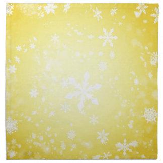 christmas joy time napkin