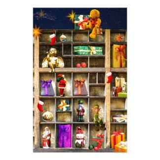 christmas joy time stationery