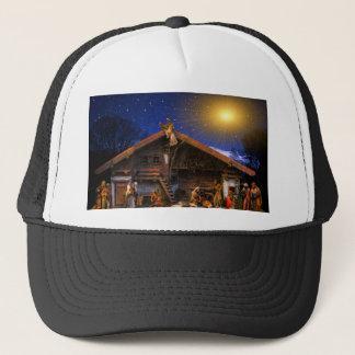 christmas joy time trucker hat