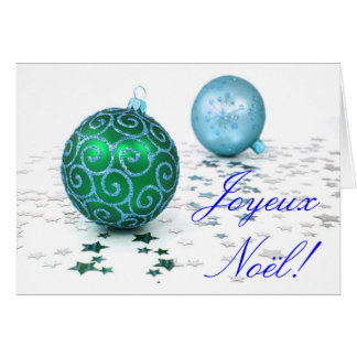 Christmas Joyeux Noel II Greeting Card