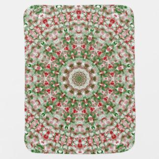 Christmas Kaleidoscope 12 Baby Blanket