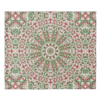 Christmas Kaleidoscope 12 Duvet Cover