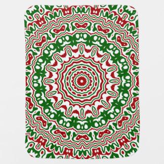 Christmas Kaleidoscope 2 Baby Blanket