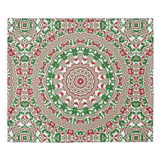 Christmas Kaleidoscope 2 Duvet Cover