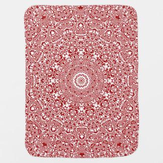 Christmas Kaleidoscope 3 Baby Blanket