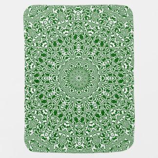 Christmas Kaleidoscope 6 Baby Blanket