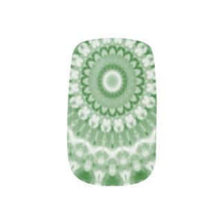 Christmas Kaleidoscope 7 Minx Nail Art