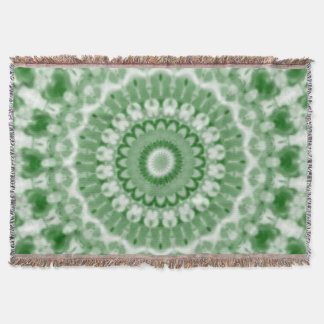 Christmas Kaleidoscope 7 Throw Blanket