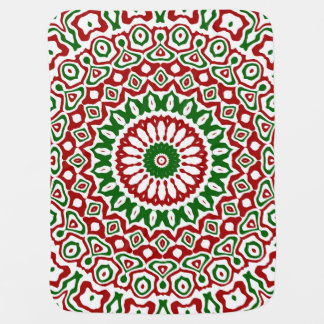 Christmas Kaleidoscope Baby Blanket